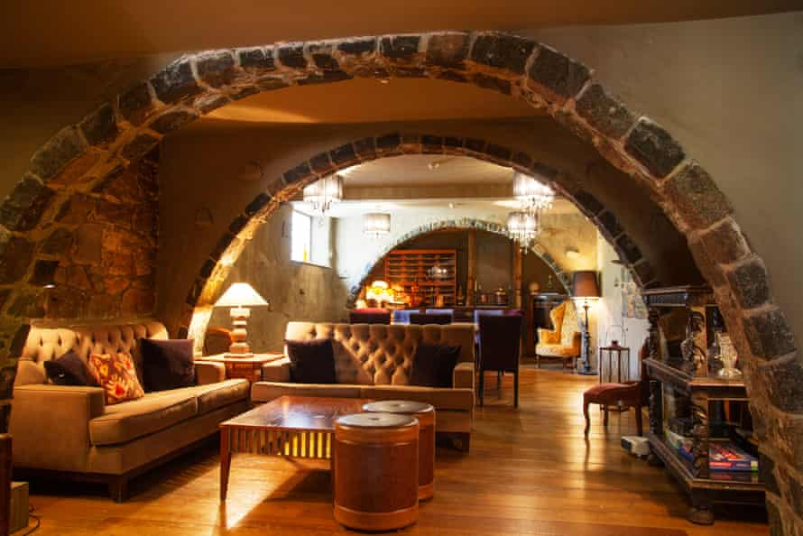 Drinking den: the Bella Luce hotel cellar lounge, which hosts Luke Wheadon's 'gin experience'.