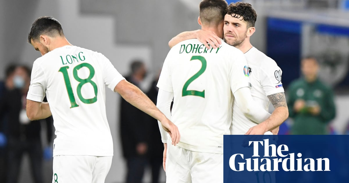 Agony for Republic of Ireland as they lose penalty shootout in Slovakia
