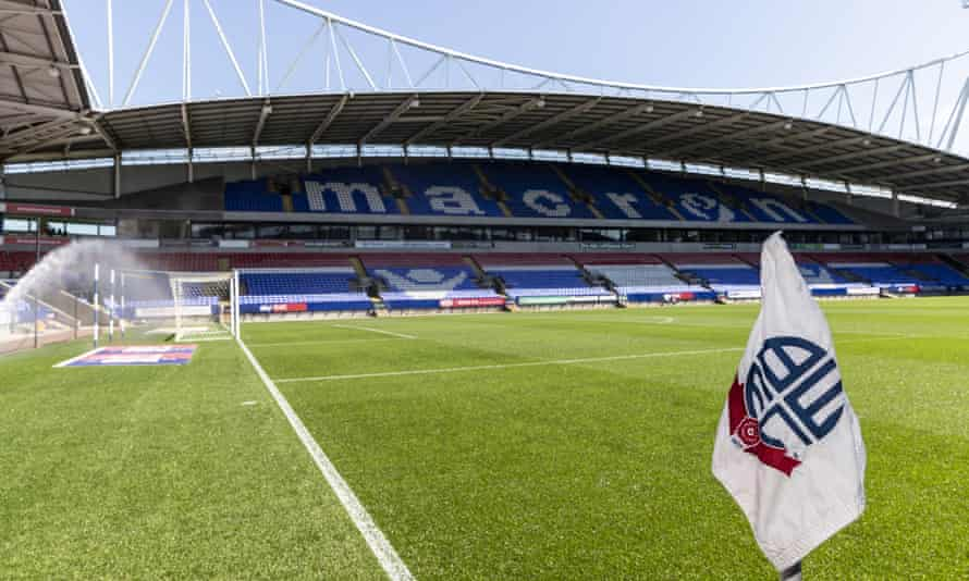 Bolton Wanderers' stadium.