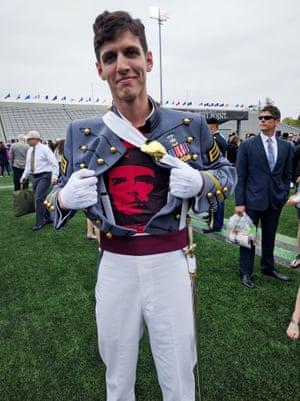 Spenser Rapone after graduating.