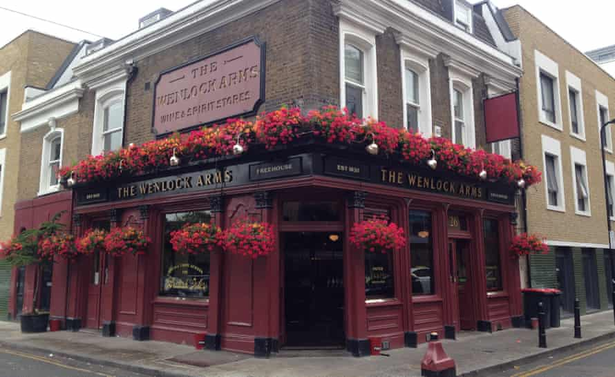 From birthday parties to meetings of the British Stammering Association … the Wenlock Arms.