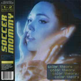 Soccer Mommy: Color Theory album art work.