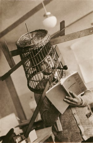 A comic photo of an unknown Bauhaus student.