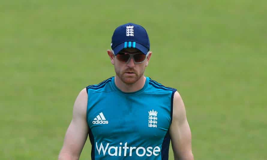 Paul Collingwood in his capacity as England fielding coach in Bangladesh last year.