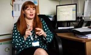 Dr Victoria Potter, consultant haematologist.