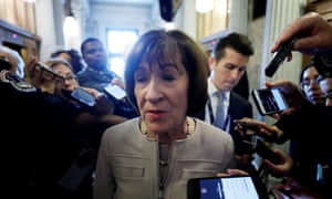 Susan Collins spoke for more than 40 minutes before confirming she would vote yes.