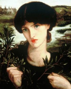Water Willow by Dante Gabriel Rossetti.