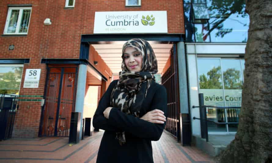 Cumbria University's London campus.