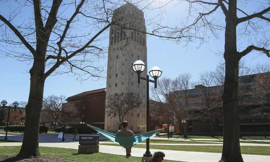 The University of Michigan'a president, Mark Schlissel, said: 'What's changed for me is my growing appreciation of the long-term financial risks to the university … of the inevitable and necessary transition to a low-carbon economy.