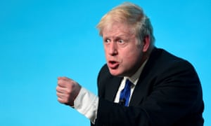 Boris Johnson at leadership hustings