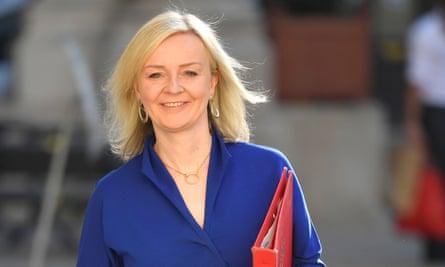 Liz Truss, the international trade secretary