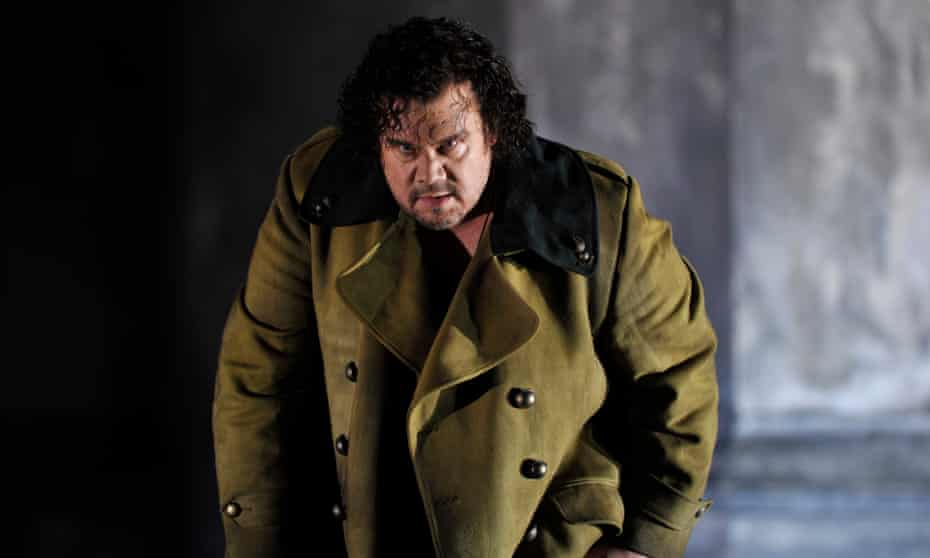 'Knowing where your parameters lie is the secret for all of us': Stuart Skelton as Otello for the ENO.