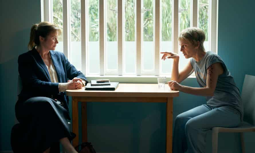 Emily Watson (left) and Denise Gough in Too Close.