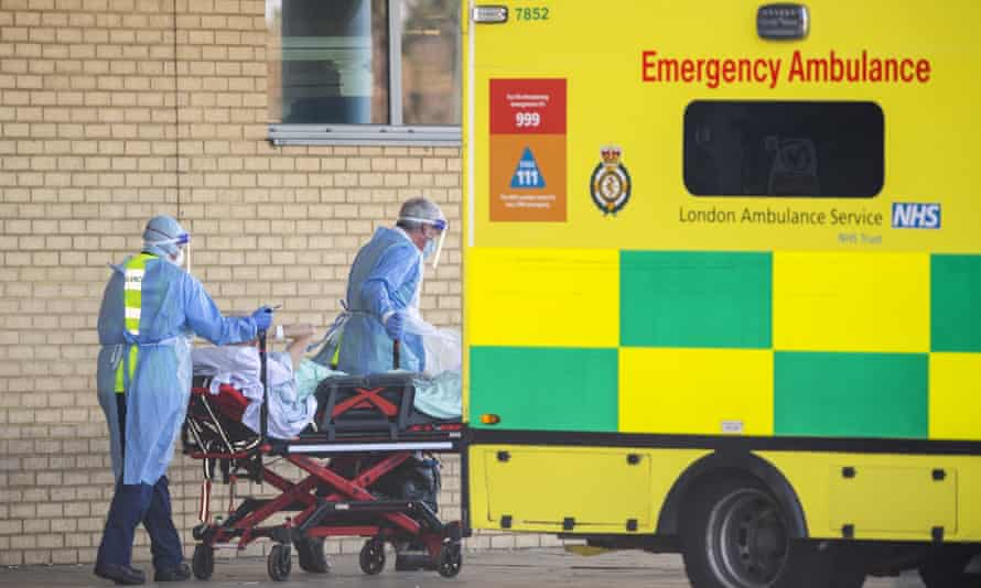 NHS workers in London