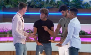 Love Island's male contestants discuss the dating show.
