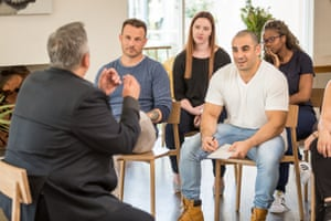 A still from the two-part SBS TV show How 'Mad' Are You? which examines the presentation of mental illness in ordinary Australians.