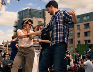 Madévi Dailly dancing in London.