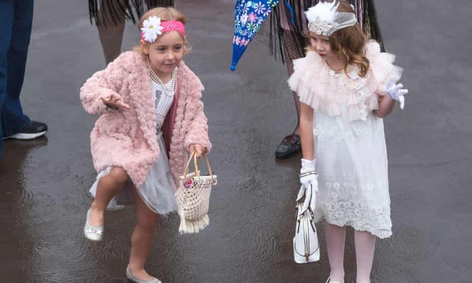 Even mini flappers joined in to dance to the Charlestone Challenge at the Hydro Majestic Roaring 20s celebrations.