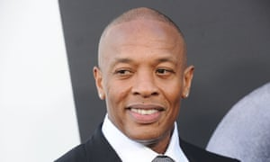 Dr Dre attends at the Hollywood premiere of the Defiant Ones.