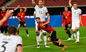 Gaya Rescues 95th Minute Nations League Draw For Spain Against Germany Football The Guardian