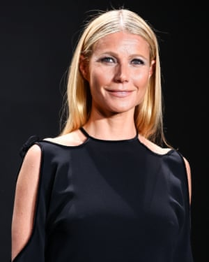 Gwyneth Paltrow at a Tom Ford fashion show