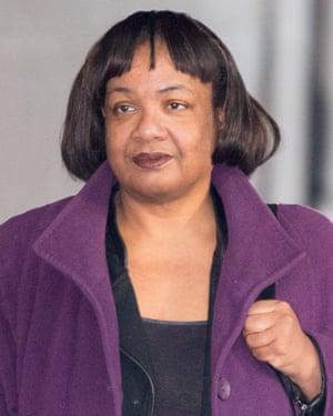 Diane Abbott.