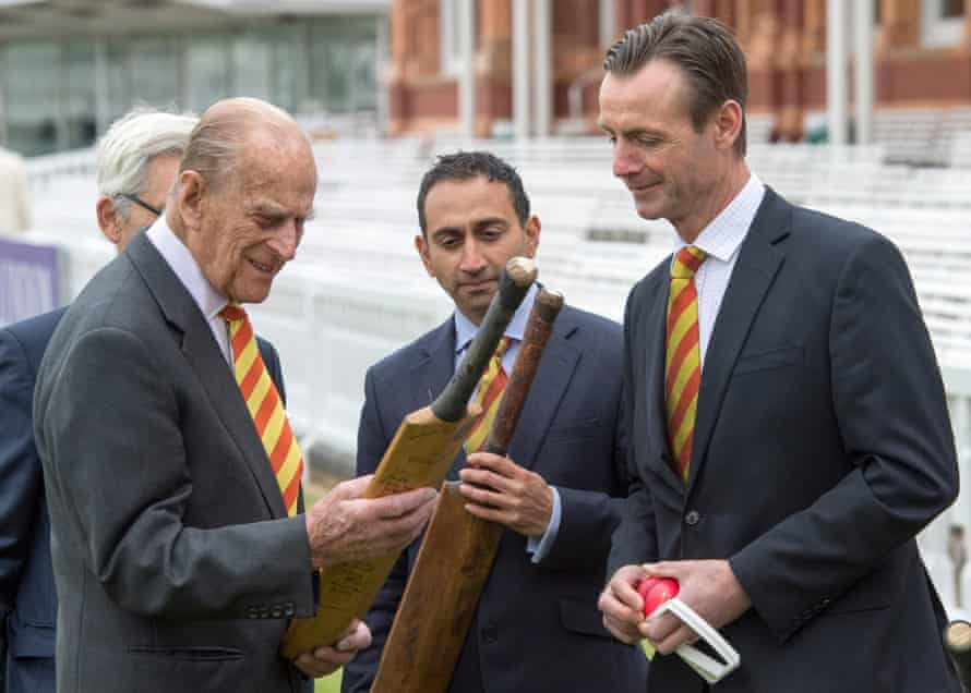 The Duke of Edinburgh was at Lord's cricket ground on Wednesday.
