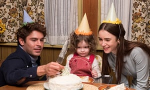 Zac Efron, Macie Carmosino and Lily Collins in Extremely Wicked, Shockingly Evil and Vile.