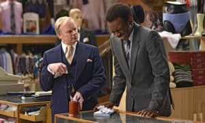 Jason Watkins and Kayode Ewumi in are You Being Served?