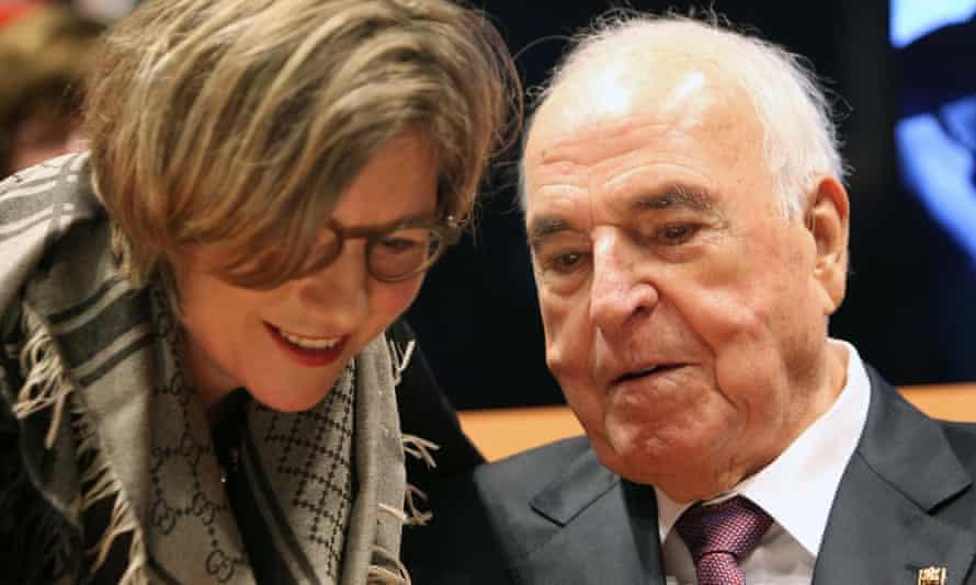 Helmut Kohl and his wife Maike Kohl-Richter