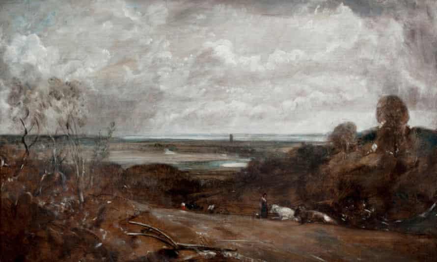 John Constable's Dedham From Langham, 1813.