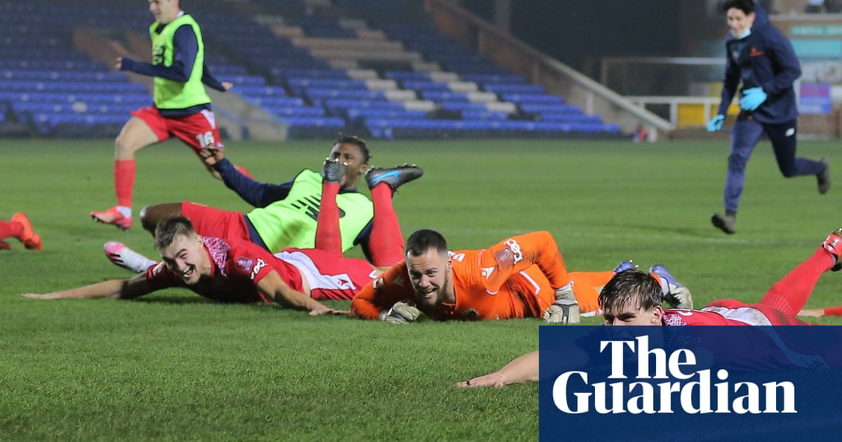 FA Cup: sixth-tier Chorley stun Peterborough to reach third round