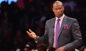 Scott coached the Lakers for the two worst seasons in the 16-time NBA champion franchise's history, going 38-126.