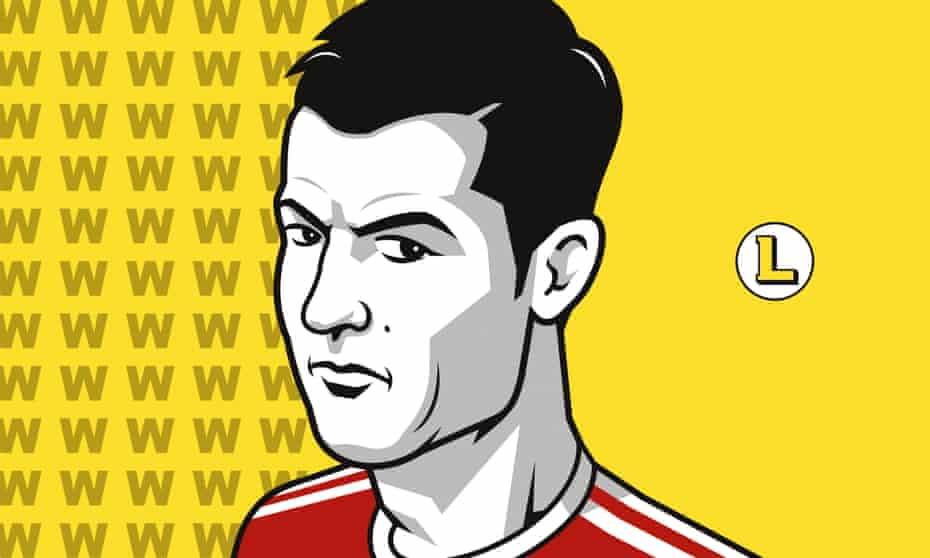 An illustration of Cristiano Ronaldo