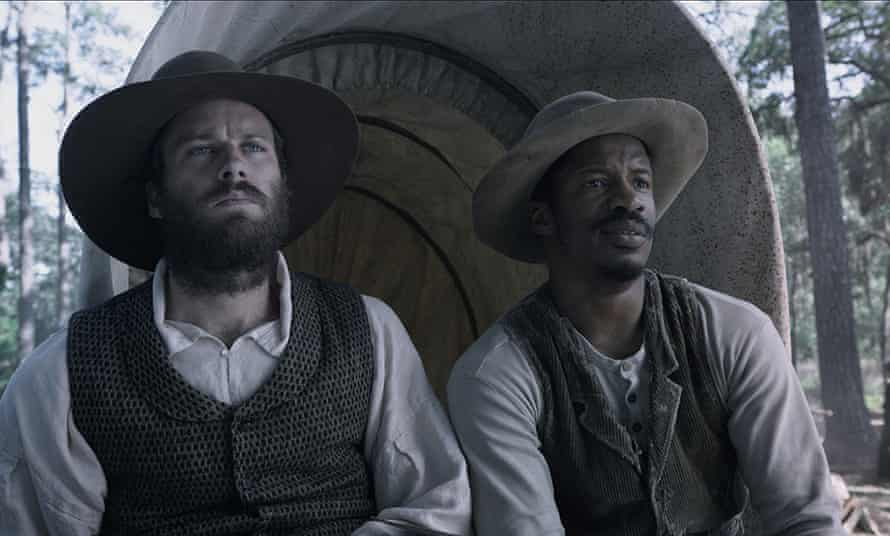 Nate Parker and Armie Hammer: other characters are underwritten.