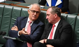 Malcolm Turnbull and Barnaby Joyce