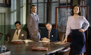 Agent Carter and Strategic Scientific Reserve colleagues