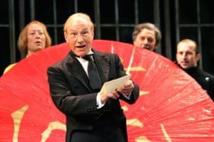 As Malvolio in Twelfth Night at Chichester Festival Theatre 2007