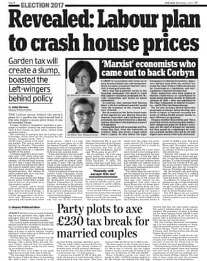 Daily Mail page eight, Wednesday 7 June 2017