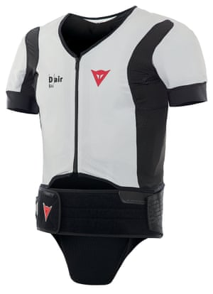 Lifesaver: The Dainese D-Air ski suit.