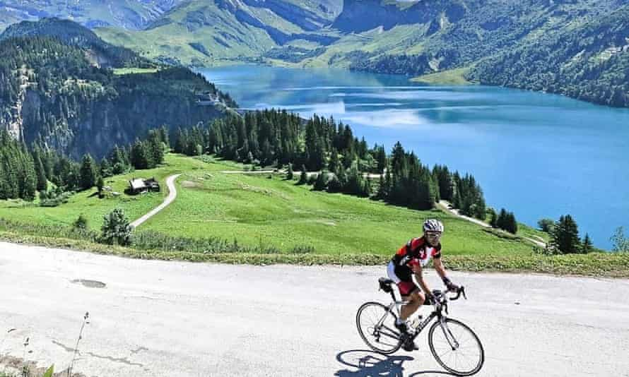 Cycling the French Alps from Morzine with muchbetteradventures.com