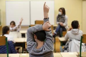 French schoolchildren