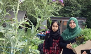 Shahnaz, Nottingham, from allotment callout 2019