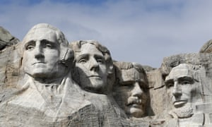 Mount Rushmore, in Keystone, SD.