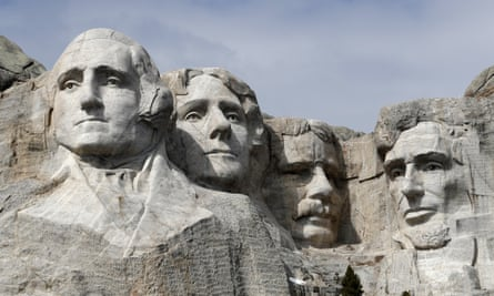 'Mount Rushmore is a symbol of white supremacy, of structural racism that's still alive and well in society today,' said Nick Tilsen