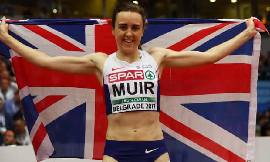 Laura Muir European Indoor Athletics Championships in Belgrade