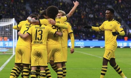 Dortmund condemn Jürgen Klinsmann to defeat on Hertha Berlin bow