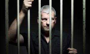 Our man in Havana: Stephen Purvis languishing behind bars.
