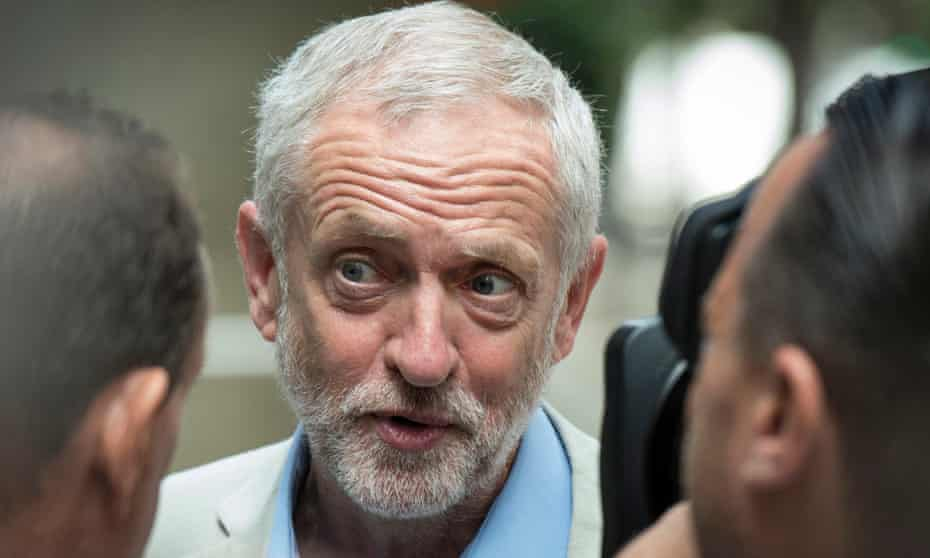 Jeremy Corbyn launches his re-election campaign on 21 July.