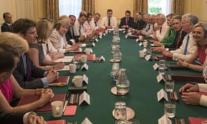 Theresa May will gather her cabinet at Chequers on Wednesday.